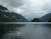 Doubtful Sound, new zealand Stock Photography