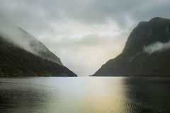 Doubtful Sound, New Zealand Stock Image