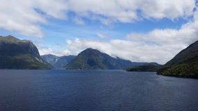 Doubtful Sound and Secretary Island Stock Image