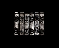 Doubts Royalty Free Stock Photo