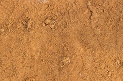 Doucement brun du sol photographie stock