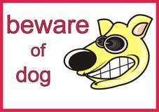 Doucement chien illustration libre de droits