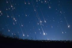 Douche d'étoile Photos libres de droits