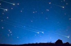 Douche d'étoile Images libres de droits
