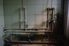Douche dans la pension Images stock