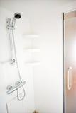 Douche dans le yacht Photos libres de droits