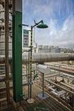 Douche de sécurité et Bath d'oeil Photographie stock libre de droits