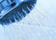 Douche de salle de bains Image libre de droits
