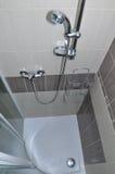 Douche de salle de bains Images libres de droits