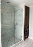 Douche de salle de bains Photo libre de droits