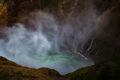Douches de cascade Photos libres de droits