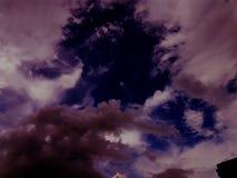 Douches de pluie Photo libre de droits