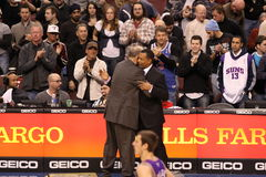 Doug Collins & Alvin Gentry Royalty Free Stock Photography
