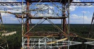 Doug details (radar station) Chernobyl Stock Image
