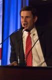 Doug Ducey, de primaire winnaar van GOP voor Arizona Governo Stock Foto