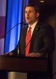 Doug Ducey, gagnant primaire de GOP pour l'Arizona Governo Images stock