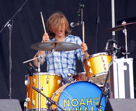 Doug Fink of Noah and the Whale Royalty Free Stock Image