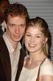 Rosamund Pike,Doug Jones Royalty Free Stock Photos