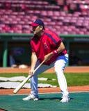 Doug Mirabelli, les Red Sox de Boston Image stock