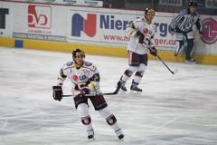 Doug O'Brien - HC Sparta Prague defenseman Stock Image