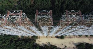 Doug (radar station) Chernobyl Stock Photos