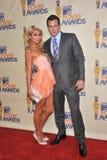 Doug Reinhardt, Paris Hilton Royalty Free Stock Photos