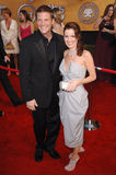 Doug Savant,Laura Leighton. LAURA LEIGHTON & DOUG SAVANT at the 12th Annual Screen Actors Guild Awards at the Shrine Auditorium, Los Angeles. January 29, 2006 Stock Image