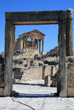 Dougga 2 Royalty Free Stock Photos