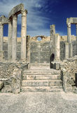 Dougga - theatre Stock Photo
