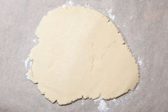 Dough for Baking Stock Photo