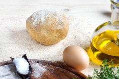 Dough ball Stock Image