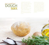 Dough ball Royalty Free Stock Images