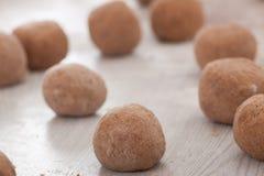 Dough balls Royalty Free Stock Photos