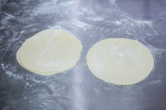 Dough for cookies Royalty Free Stock Images