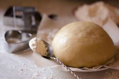 Dough for cooking Stock Photography