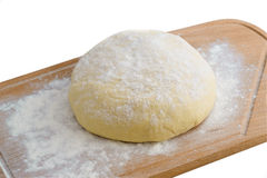 Dough. Cooking process of delicious and fragrant pastries Royalty Free Stock Photography