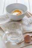 Dough for Japanese Tempura stock image
