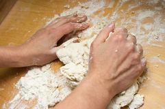 Dough making Stock Photos