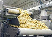 Dough manufacture Stock Images