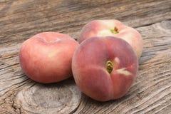 Dough nut peaches Royalty Free Stock Photo