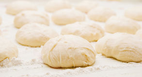 Dough for the patties Royalty Free Stock Photos