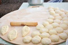Dough for pies Royalty Free Stock Photography