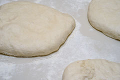 Dough for pizza Stock Photos