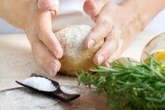 Dough preparation Stock Photos