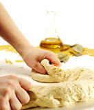 Dough Preparation Royalty Free Stock Images