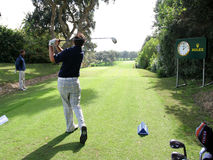 Dougherty, Volvo Masters, Valderrama, 2005 Royalty Free Stock Photos