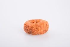 Doughnut ή γλυκαμένος μηλίτης Donuts της Apple σε ένα υπόβαθρο στοκ εικόνες με δικαίωμα ελεύθερης χρήσης