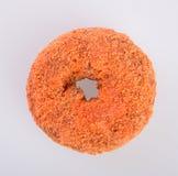 Doughnut ή γλυκαμένος μηλίτης Donuts της Apple σε ένα υπόβαθρο Στοκ εικόνα με δικαίωμα ελεύθερης χρήσης