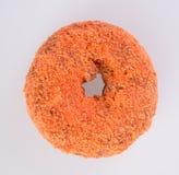 Doughnut ή γλυκαμένος μηλίτης Donuts της Apple σε ένα υπόβαθρο στοκ εικόνες