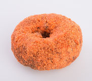 Doughnut ή γλυκαμένος μηλίτης Donuts της Apple σε ένα υπόβαθρο Στοκ Εικόνα